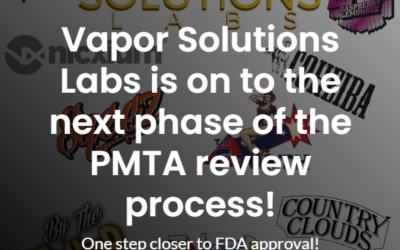VSL's PMTA Acceptance Letter